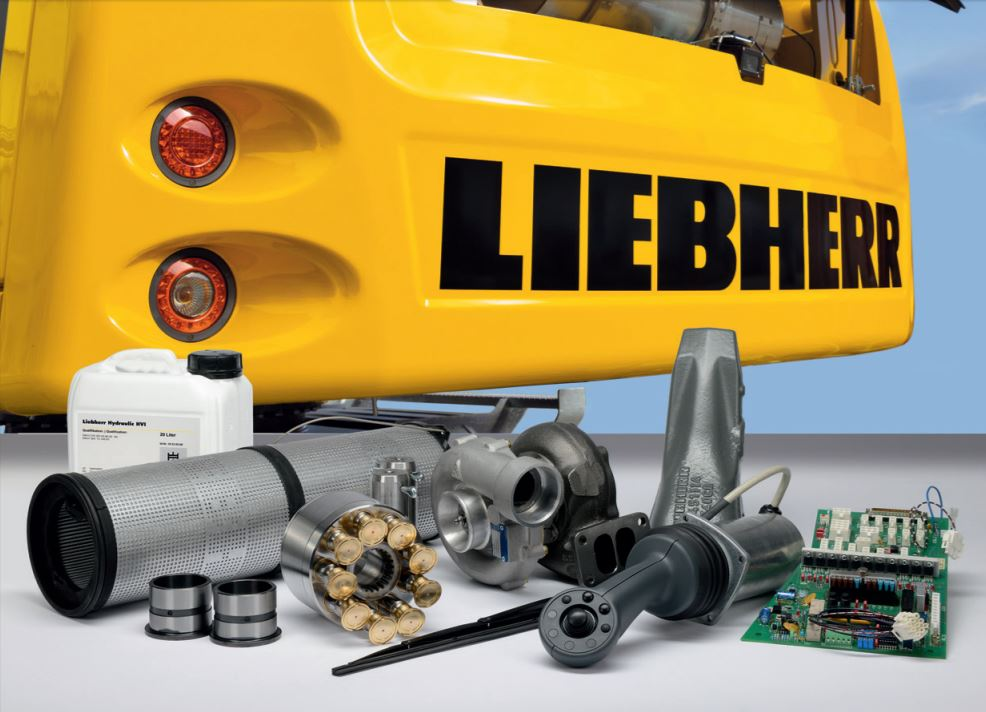 Liebherr equipment parts from Power Screening